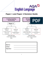 AQA Language Revision Guide