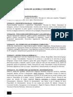 Programa AlgII 2017