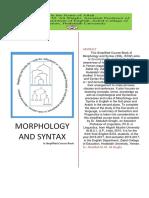 MorphologyAndSyntaxASimplifiedCourseBookByDrShaghi20162017