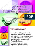 Foriegn Exchange & Balance of Payment