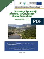 Program Rozwoju i Promocji Produktu Turystycznego Gminy Czernichów Na Lata 2009 - 2013 _004_017_194806