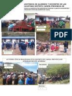 Constatación de Asistencia de Alumnos y Docentes de Las Instituciones Educativas Distrito Capaya Provincia de Aymaraes Región Apurímac