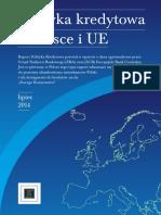 ZBP Raport Polityka Kredytowa w Polsce i UE
