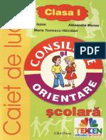 Carti Caiet.de.Consiliere.si.Orientare.scolara Clasa.1 Ed.erc.Press TEKKEN