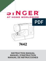 Singer 7442