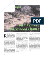 How We Found Our Remote Backwoods Home