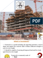 Details of Formwork With Pics