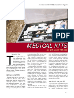 Medical Kits for Self-reliant Families...