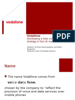 Vodafone Value Chain