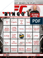 UFC-Bingo