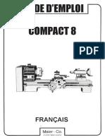 EMCO Compact 8 Manuel