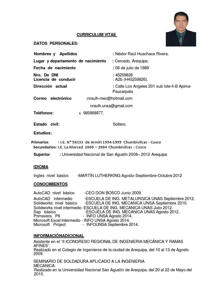 CURRICULUM VITAE ING. NESTOR HUACHACA.pdf