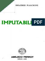 Falcioni, Marta Beatriz - Imputabilidad