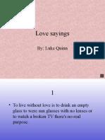 love say