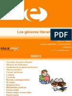 Generos Literarios - Educar Chile