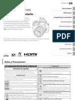 Manual Fujifilm FINEPIX SL1000
