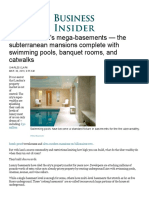Business Insider - Inside London's Mega-Basements