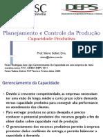 Capacidade Produtiva 2012 2
