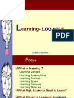 Loopholes in Learning
