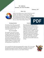 j anderson newsletter 2