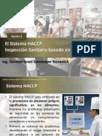 EL SISTEMA HACCP-INSPECCION SANITARIA DE RIESGOS