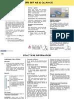 Peugeot 307 Owners Manual 2002