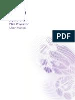 Projector Manual 6744