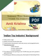 Indian Toy Industry,Amit Krishna
