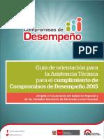 Guía de orientación para la Asistencia Técnica para el cumplimiento de Compromisos de Desempeño 2015.pdf