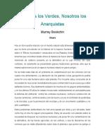 Bookchin Murray_Nosotros Los Verdes_utopia