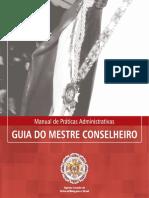 GUIA DO MESTRE CONSELHEIRO 2015_Manuais de Práticas Administrativas