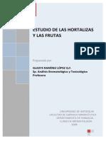 Estudio de Frutas y Hortalizas 2008