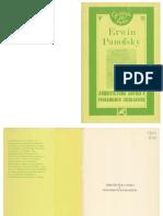 PANOFSKY  Arquitectura Gotica y Pensamiento Escolastico