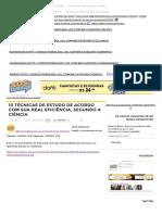 10 Técnicas de Estudo de Acordo Com Sua Real Eficiência, Segundo a Ciência _ SOS Solteiros (1)