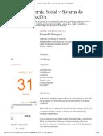 Economía Social y Sistema de Protección_ Desarrollo Endogeno