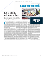 HT E-Paper_Crime Without Law