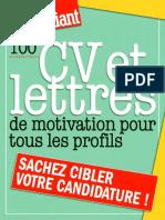 100 CV et lettres de motivation pour tous les profils.pdf