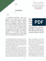 15. Marie Maryam Les Interpretations Esoteriques Du Coran La Fatihah Et Les Lettres Isolees Qashani Trad. Michel Valsan Science Sacree Koutoubia 2009