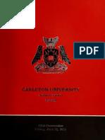 Carleton Convocation
