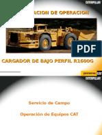 Manual de Cargador Caterpillar R1600G
