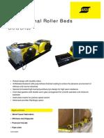 Roller beds ESAB-cdci-5-120