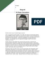 Biografi Ki Hajar Dewantoro