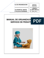 Org, Ped Mio Manual