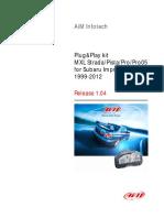 MXL Subaru P&P 104 Eng