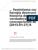El Feminismo Como Herejía Destructiva_ Historia de Su Verdadera Naturaleza y Concepciones Actuales [2013!01!27] R » Foros de La Virgen María