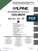 Cda9887r Owners Manual