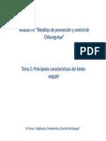 Mod III Tema II Principales Caracteristicas Del Aedes Aegypti