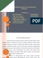 1. Penerapan Sistem Haccp Pada Industri Pengolahan Tapioka.pptx