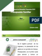 Lunes-SNEF-Presupuesto Familiar 2010 [Modo de Compatibilidad]2