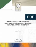 Manual en Materia Procesal Del Trabajo Ante La JCA